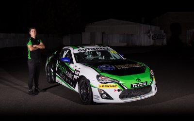 George Gutierrez Joins Toyota 86 Series Full Time in 2018 – Press Release