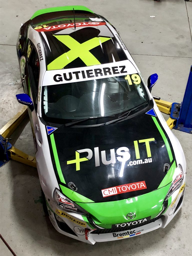 New Plus IT backing for George Gutierrez