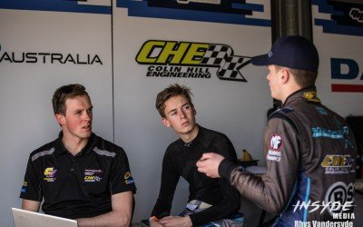 Cameron Hill talks about his career and building his own team to help young drivers follow in his footsteps