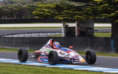 Cody Burcher stoked with progress during debut Australian Formula Ford season