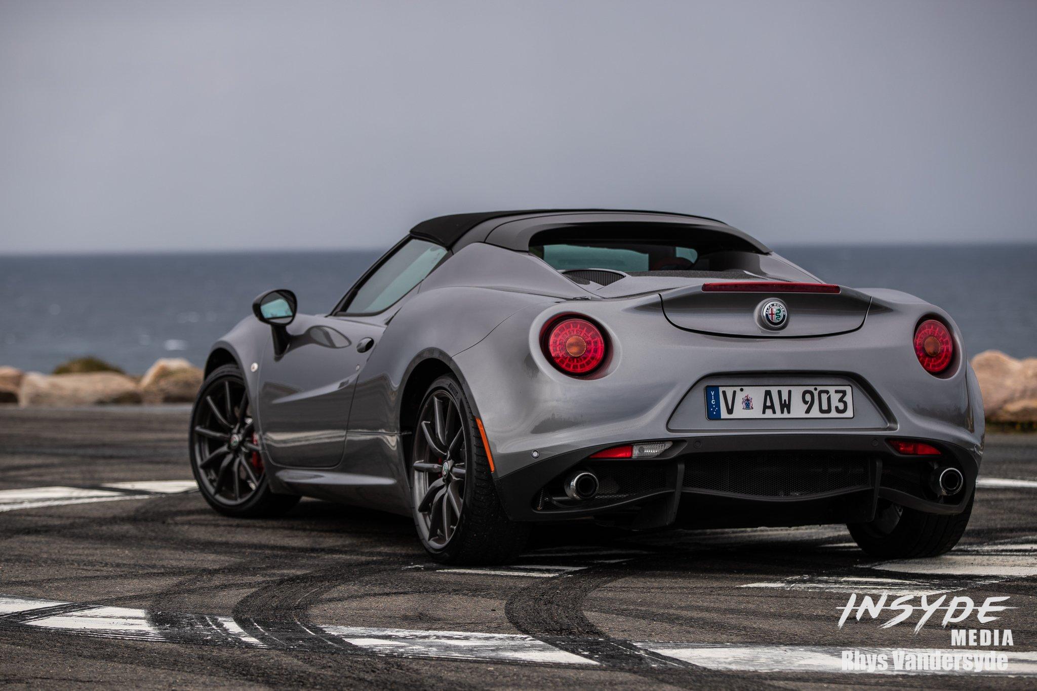 Photo Shoot: Alfa Romeo 4C
